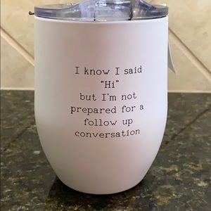 Other - Stainless Steel Stemless Wine Tumbler